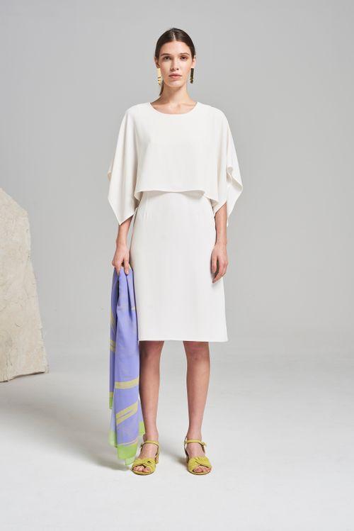 Vestido Analia Off White
