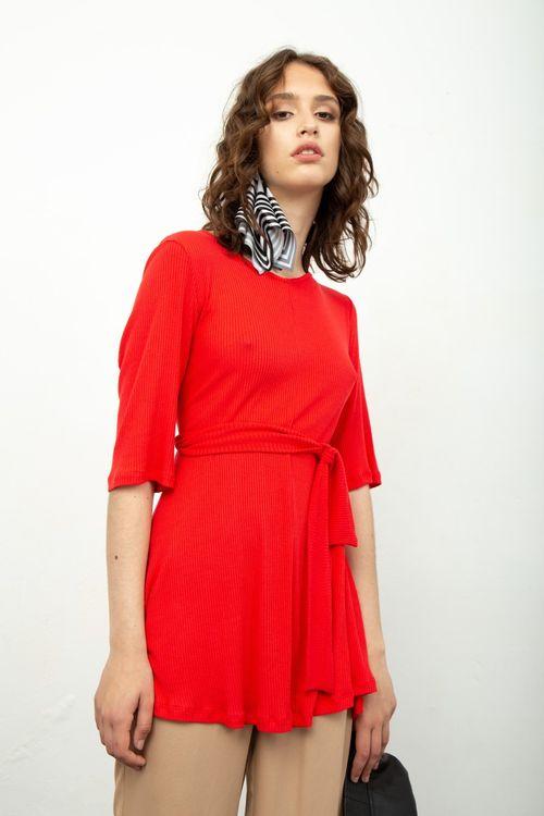 Vestido Kruger Rojo